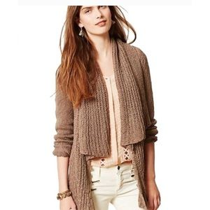 Anthropologie Knitted & Knotted Siretta cardigan